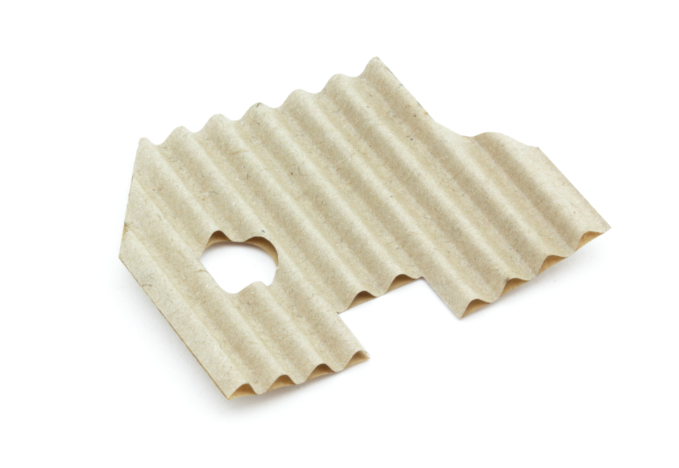 Corrugated cardboard 2,6mm - Back