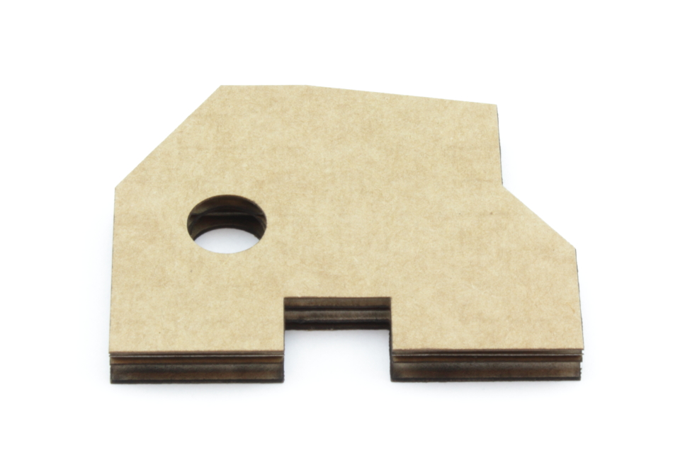Corrugated cardboard 6,9mm - Front
