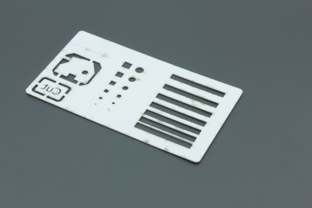 Styrene 1mm White - Flashbacks