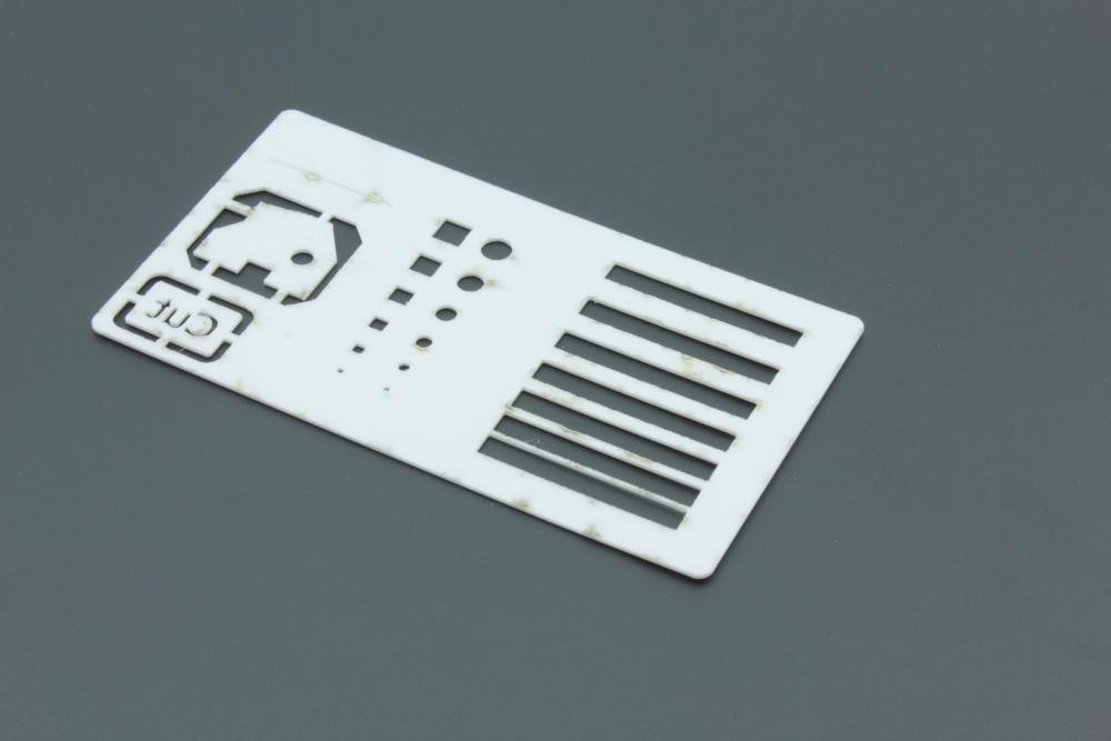 Styren 1mm Vit - Baksida