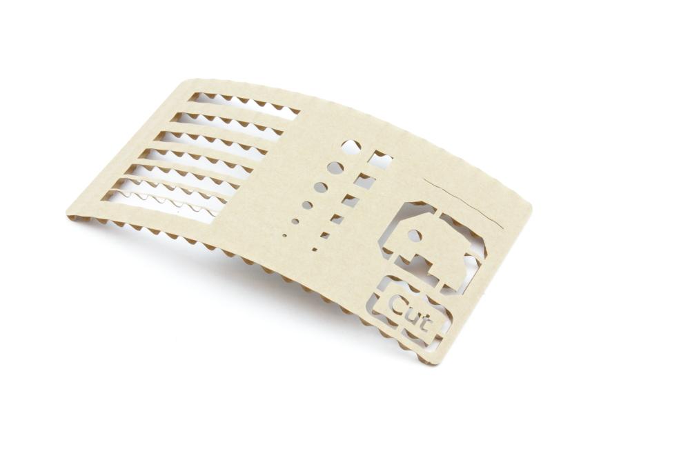 Corrugated cardboard 2,6mm - Cut