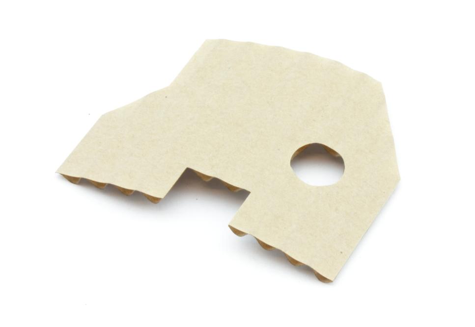 Corrugated cardboard 2,6mm - Front