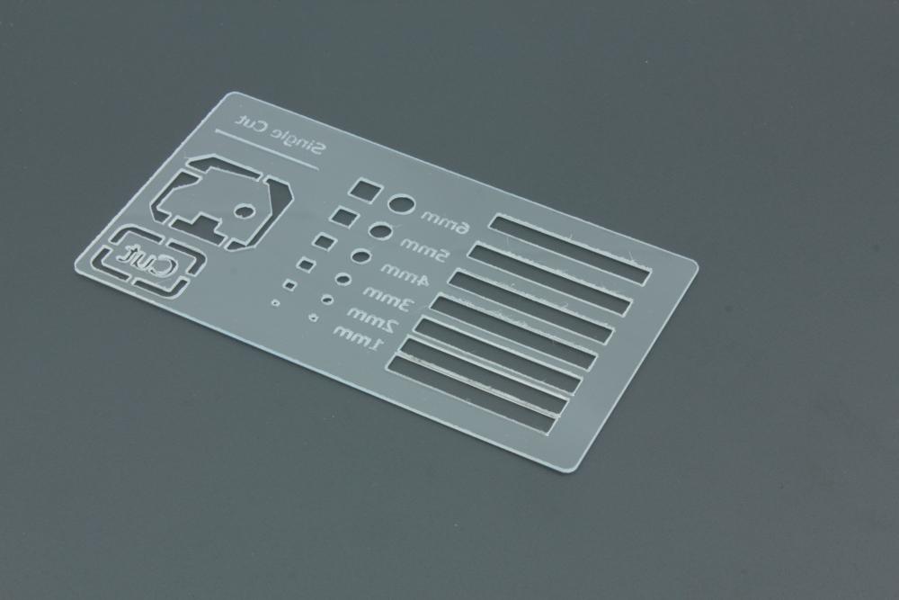 Styrene 1mm Transparent - Back