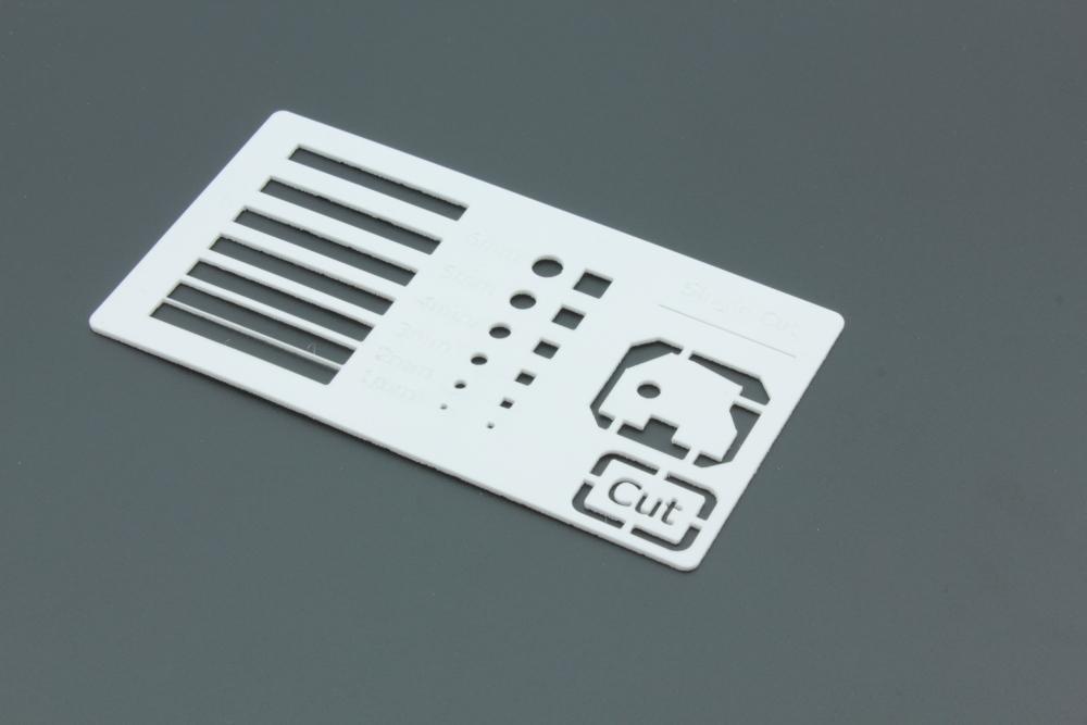 Styrene 1mm White - Cut